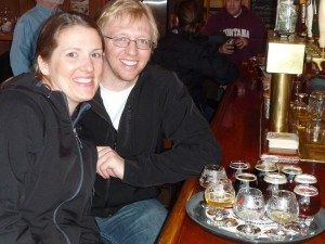 Happy Beer Tasters at the Great Northern Brewing Co.