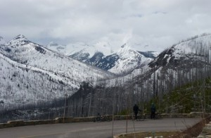 Beautiful vistas await intrepid Spring bicyclists.