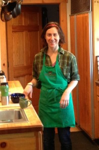 In addition to baking at the Moose, Lauren makes and serves great breakfasts too!