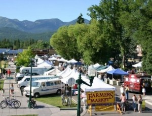 Whitefish Farmers Market is held each Tuesday evening during the Summer from 5-7:30 pm.