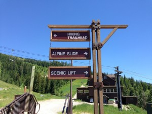 Summer activities abound at the Whitefish Mountain Resort